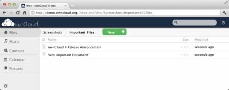 OwnCloud, el Dropbox de código abierto se actualiza