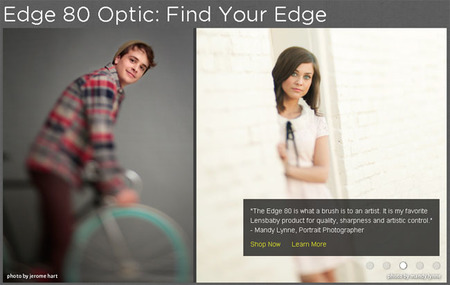 Lensbaby Edge 80 Optic: Desenfoca como quieras