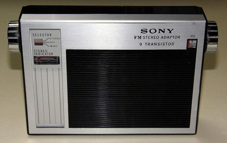 Vintage Sony Model Sta 110 Fm Multiplex Stereo Adapter 9 Transistor Made In Japan 8414448723