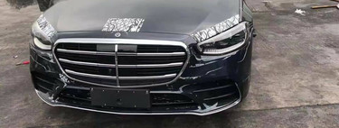 ¡Espiado! El Mercedes-Benz Clase S 2021 pierde el camuflaje y muestra un interior muy futurista