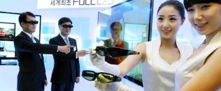 LG LX9500, unión de tecnología 3D y LED en un gran televisor