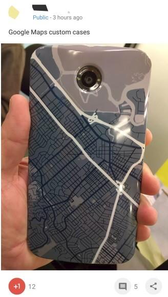 Nexus 6 Funda Mapa