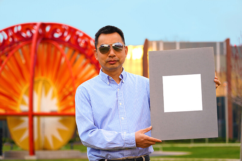 Los edificios que se pintan con esta pintura extra blanca están más refrigerados que si usaran climatizador