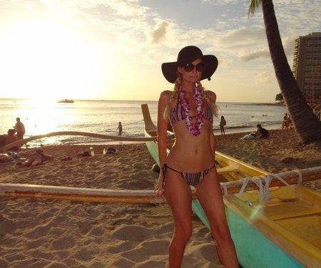 Paris Hilton vacaciones