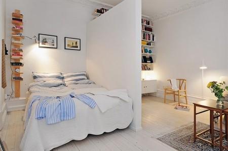 Errores de decoración: la cama pegada a la pared