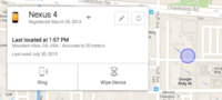Android Device Manager, ya disponible la web para localizar nuestros dispositivos Android