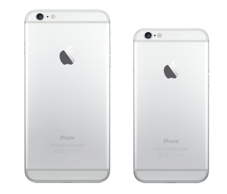 iPhone 6 y iPhone 6 Plus trasera materiales