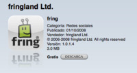 Fring disponible para el iPhone