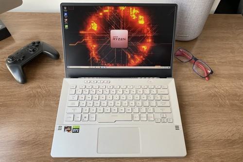 ASUS ROG Zephyrus G14 con Ryzen 9 4900HS: probamos el procesador portátil más potente de AMD y esto nos encontramos