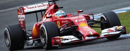 Así demuestra Fernando Alonso su frustración con el Ferrari F14T