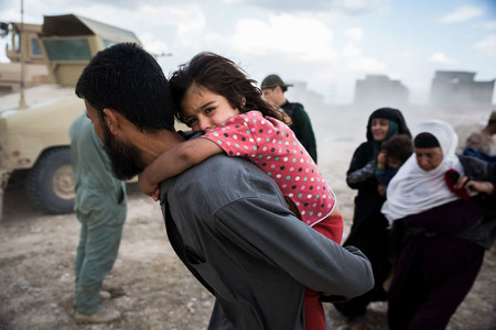 El rostro de la guerra en Mosul, Irak, a través de 27 fotografías de lucha y supervivencia
