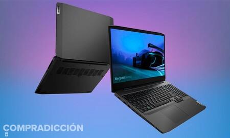 Amazon te deja este portátil gaming Lenovo IdeaPad Gaming 3 con procesador i7 por 100 euros menos