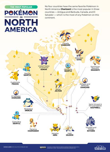 Pokemon America Del Norte