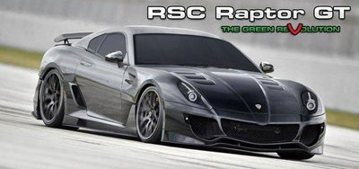 RSC Raptor GT, un superdeportivo con motor rotativo
