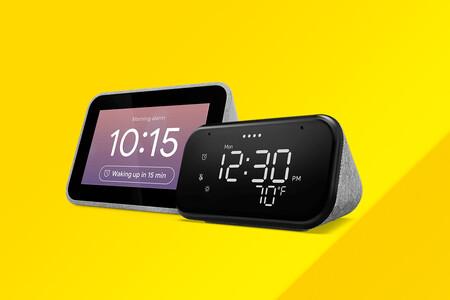 """Los despertadores """"inteligentes"""" de Lenovo con Google Assistant están de oferta por la Cyber Week de MediaMarkt desde 24,99 euros"""