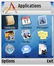 Tema Mac OS X para Nokia S60