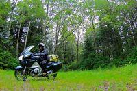 América en moto. Juan de Fuca en la Isla de Vancouver