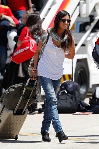 Los mejores looks de sport de las celebrities para el día a día de este verano. Sara Carbonero I
