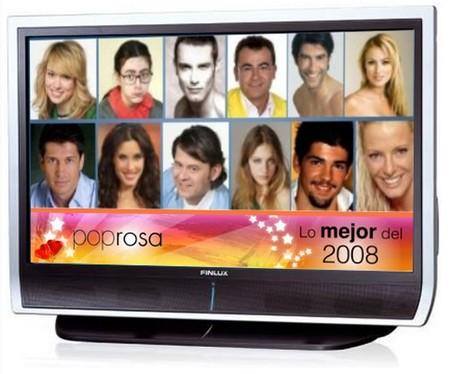 Lo mejor de Poprosa 2008: Los famosos nacionales de la televisión