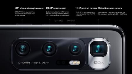Xiaomi Mi 10 Ultra Oficial Camaras Zoom 120x