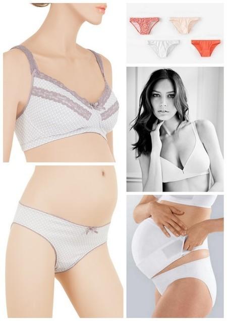 moda embarazadas verano 2014 ropa interior especial para