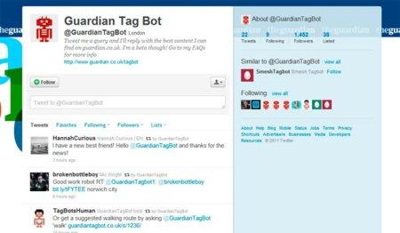 The Guardian crea un bot que automatiza las búsquedas sobre la actualidad vía Twitter