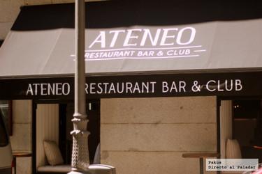 Restaurante Ateneo. Cocina, bar y club en la sede del histórico Ateneo de Madrid