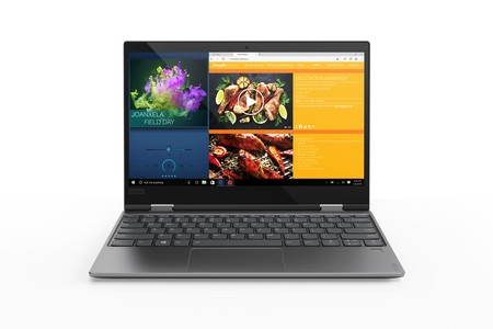 Portátil Lenovo Yoga 720-12IKB, con pantalla táctil y SSD de 256GB, por 749 euros en PcComponentes