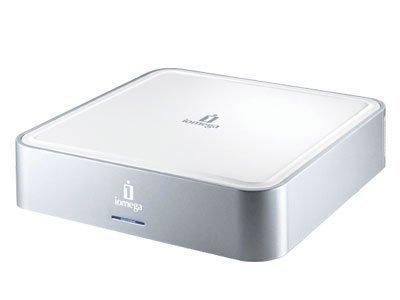 Disco duro externo de 500 GB de Iomega, ideal para el MacMini