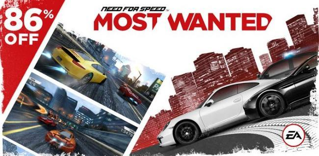 Need for Speed Most Wanted en oferta