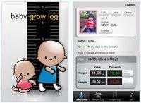 """""""Baby Grow Log"""": controla los percentiles de tu hijo con el iPhone"""