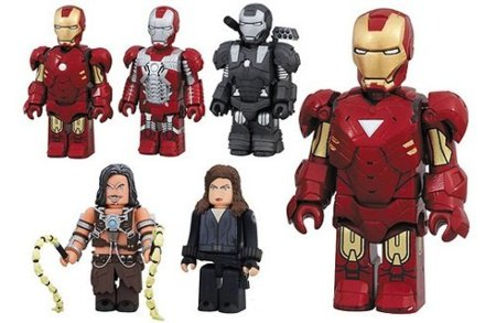Muñecos Kubricks Iron Man 2 por Medicom Toy