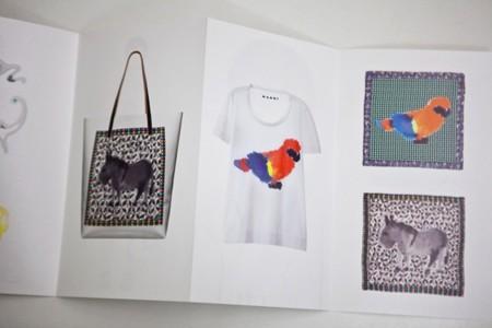 Los animales de Rop Van Mierlo en la colección de Marni