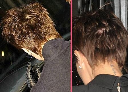 Victoria Beckham usa parches para el pelo