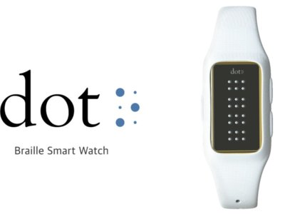 Dot un SmartWatch para personas invidentes