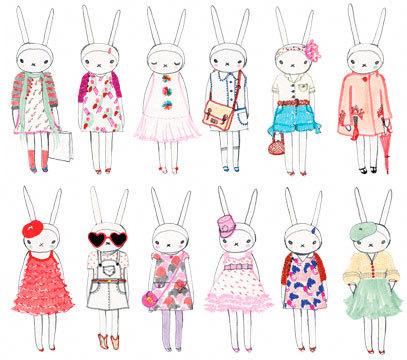 Fifi Lapin, la conejita más fashionista
