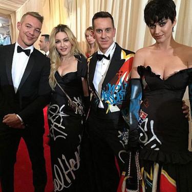 ¿China? ¿Qué China? Madonna y Katy Perry solo piensan en Moschino en la Gala del Met 2015