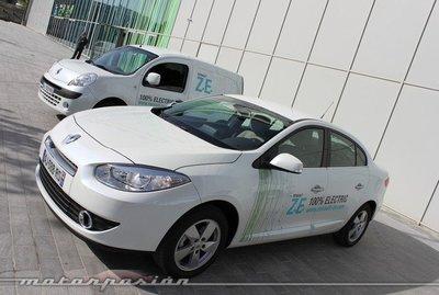 Renault Fluence Z.E. y Kangoo Z.E., toma de contacto en París