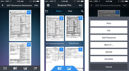 Scanner Pro Iphone Screens Updated Ios 7