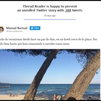 Si te confunden los hilos de Twitter, este bot organiza la historia por ti en una misma página