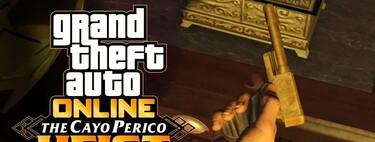 GTA Online: cómo conseguir la Pistola Perico en Golpe a Cayo Perico