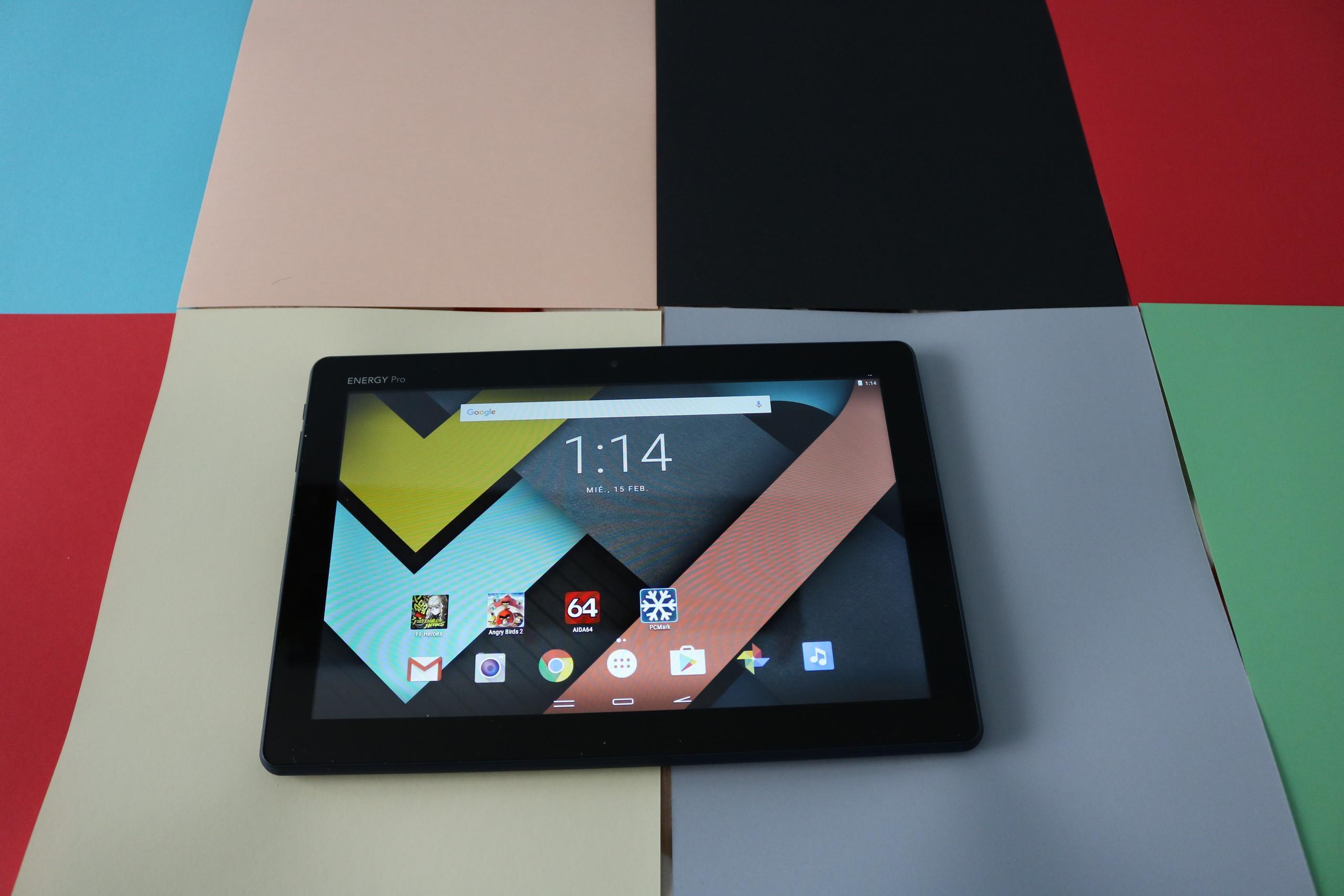 Foto de Diseño Energy Tablet Pro 3 (7/12)