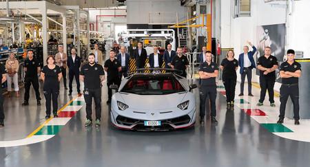¡Suma y sigue! El Lamborghini Aventador alcanza las 10.000 unidades producidas tras casi diez años de vida