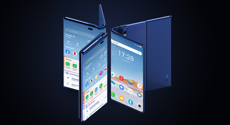 TCL Fold 'n Roll, o cómo juntar en un mismo teléfono los conceptos de móvil plegable y móvil enrollable