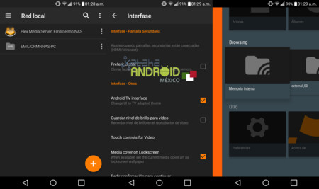 Nueva actualización beta de VLC 2.0 viene con red local e interfaz Android TV