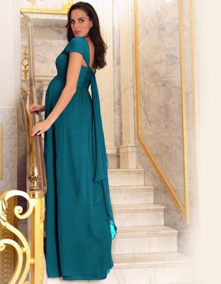 Vestido Premama Verde
