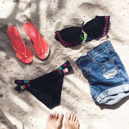 Aimee Song Beach Flatlay
