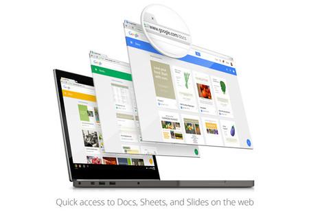 Google actualiza los sitios de Docs, Slides y Sheets para incorporar Material Design
