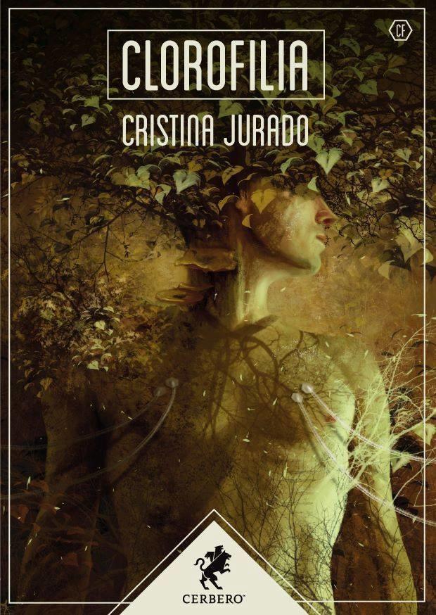 Portada de la colección de relatos 'Clorofilia' de Cristina Jurado.