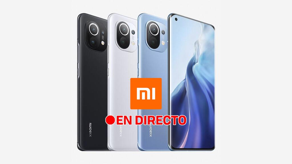 Xiaomi Mi 11: sigue la presentación de hoy en directo y en vídeo con nosotros